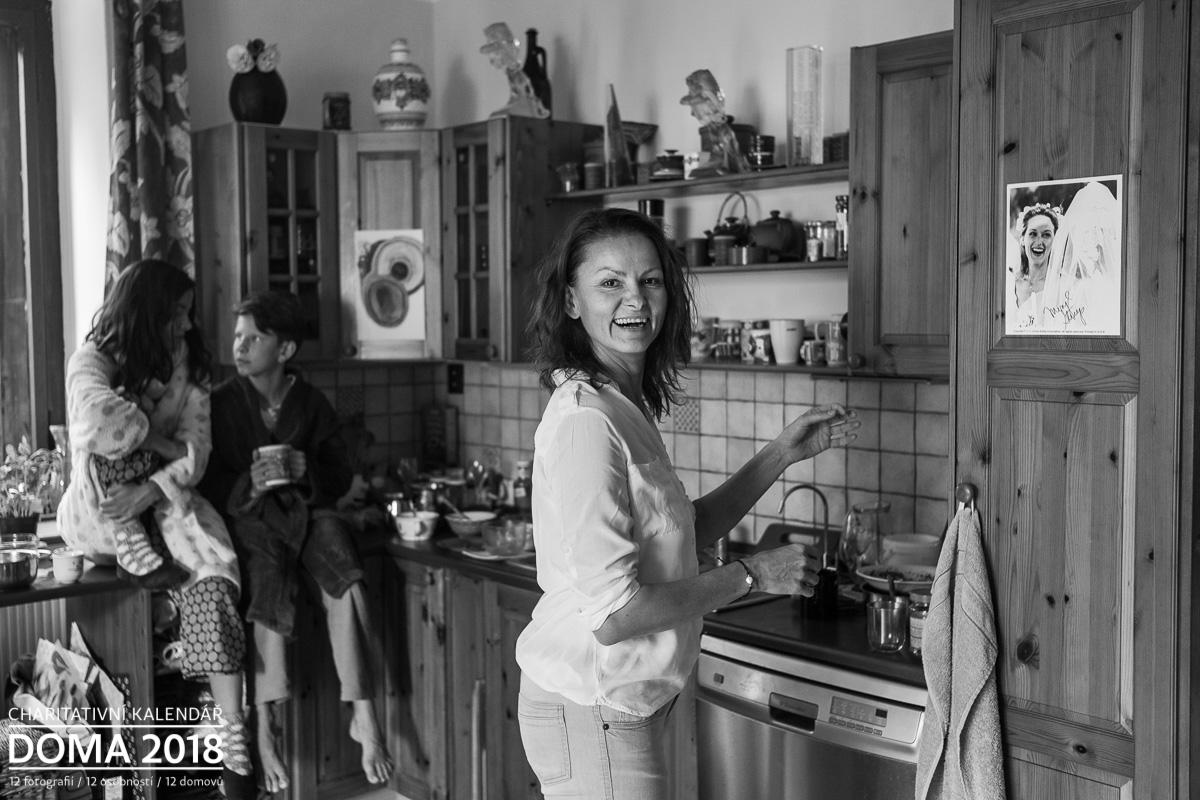 Portrét Klára Melíšková Doma 2018