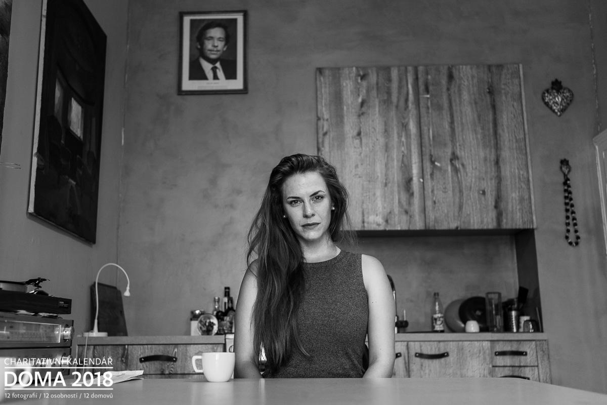 Portrét Petra Nesvačilová Doma 2018
