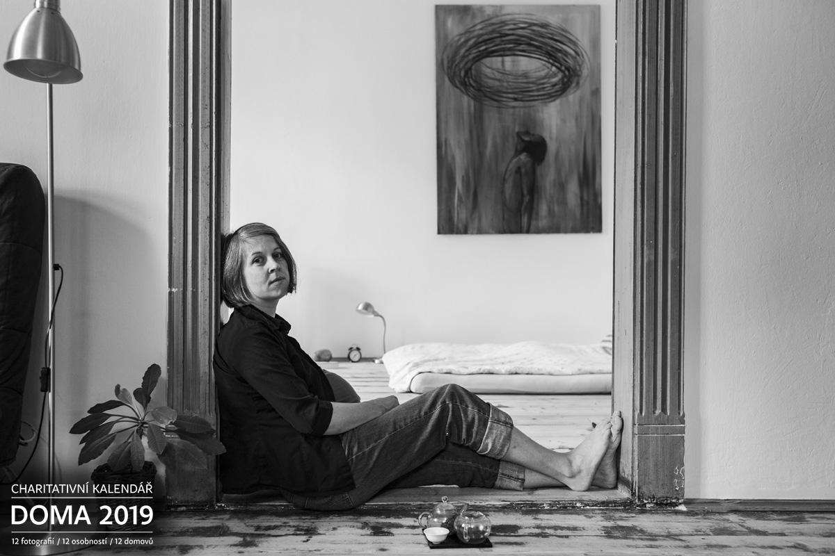 Portrét Ivana Uhlířová Doma 2019