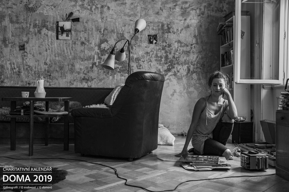 Portrét Johana Matoušková Doma 2019